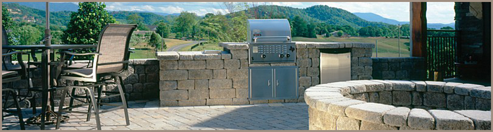 Concrete Block BBQ