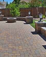 Delightful Paver Stone Patio