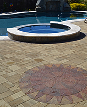 Paver Stone Pool Decks
