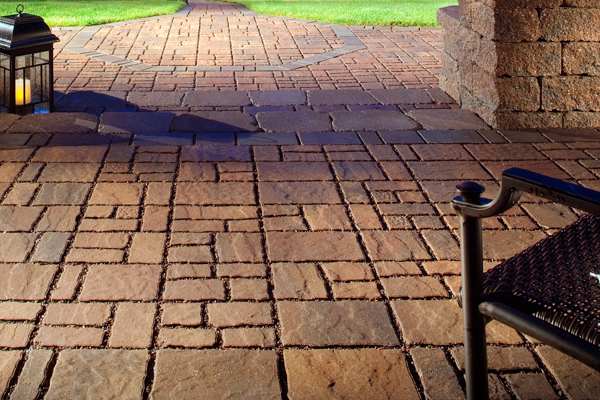 decorating with patio paver stones in sacramento - Paver Stone Patio