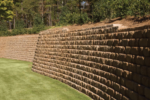 Concrete Block Retaining Wall Design store 18 cinder block wall design on wallconcrete block retaining wall building concrete block retaining Retaining Walls 03 The Paver Company 2016 07 21t0140320000 Gallery Retaining Walls