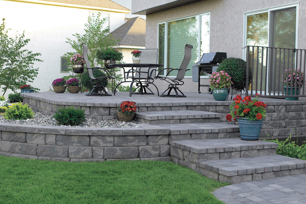 Stairs, Garden Walls, Retaining Walls, BBQ Pits, And Firepit Pavers In  Sacramento. Retaining_Walls_04. Beautiful Modular Concrete Block Walls ...