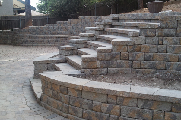 Concrete Block Steps, Stairs And Transitions