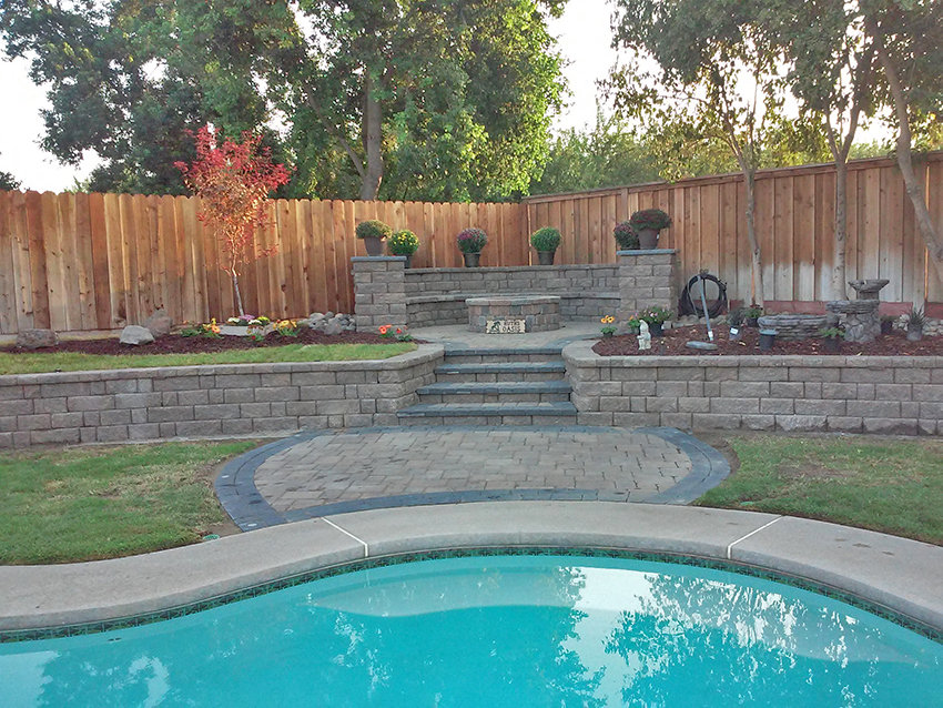 Benefits of Concrete Pavers - Pool Deck
