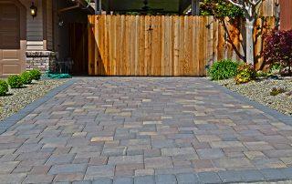 El Dorado Hills Paver Stone Driveway - CloseUp