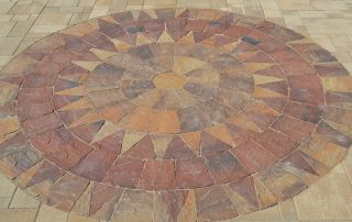 Patio Pavers for Faux Rugs