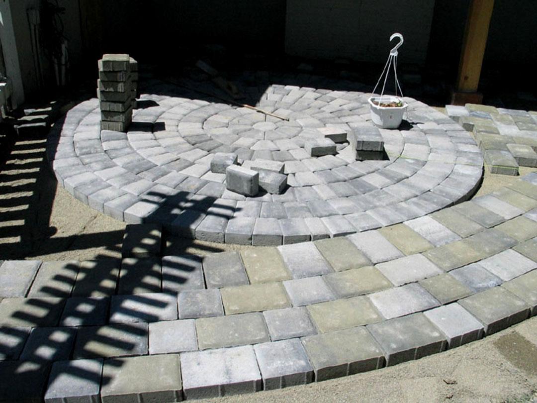 DIY Paver Stone Patio Sacramento, CA