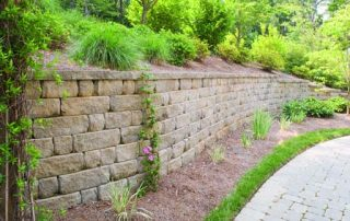 Wall Pavers and Vertical Paver Stone Elements