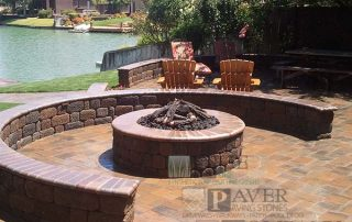 Paver Stone Patio and Patterns