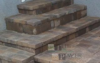 Paver Stone Walkway and Entry Steps