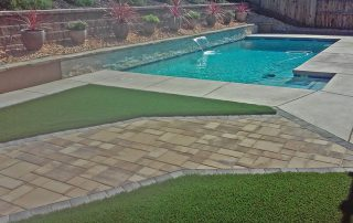 Porcelain Paver Stone Installation