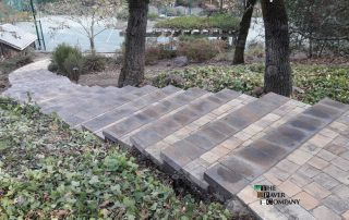 Custom Paver Stone Driveway & Walkway in the Lovely Area of Helena