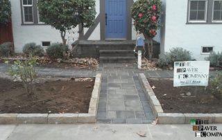Custom Paver Stone Yard & Walkway Downtown Sacramento