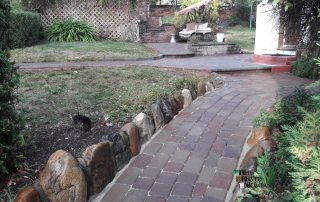Custom Belgard Cambridge Paver Stone Entry and Walkway in Placerville