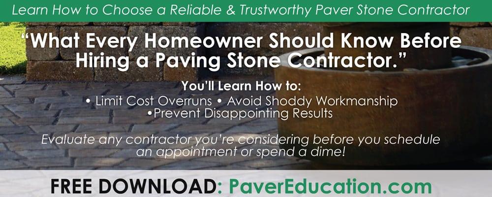 Paver Stones - Paver Driveways