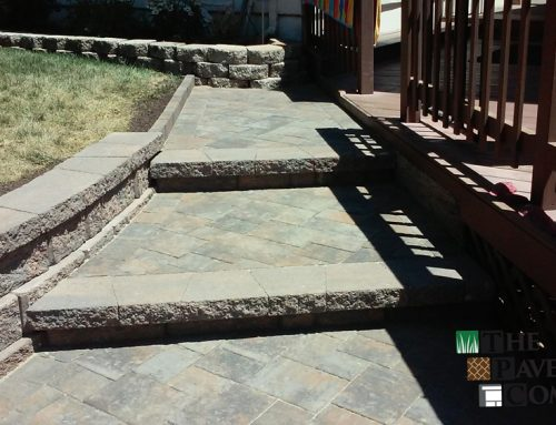 Custom Paver Stone Backyard, Patio, and Steps in Fair Oaks