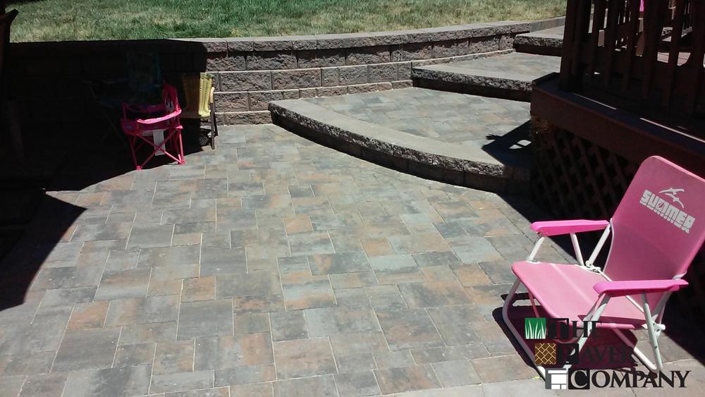 Custom Paver Stone Backyard Patio And Steps In Fair Oaks